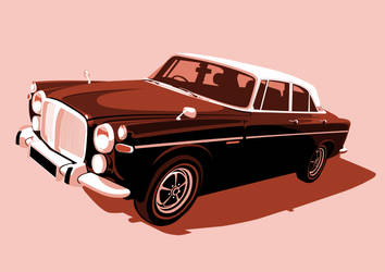 Rover P5B Salmon by McJade