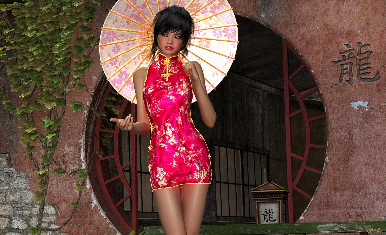 China Doll By Aen Seidhe On Deviantart