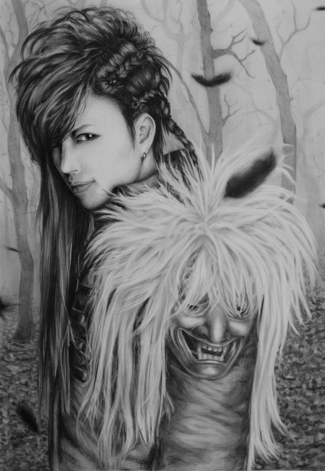 GACKT BEST OF THE BEST THE BLACK FEATHER by DarkCrea