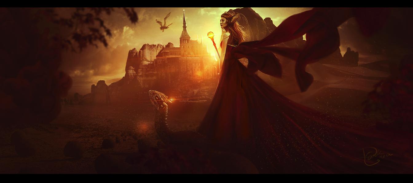 Golden Glory by DarkCrea
