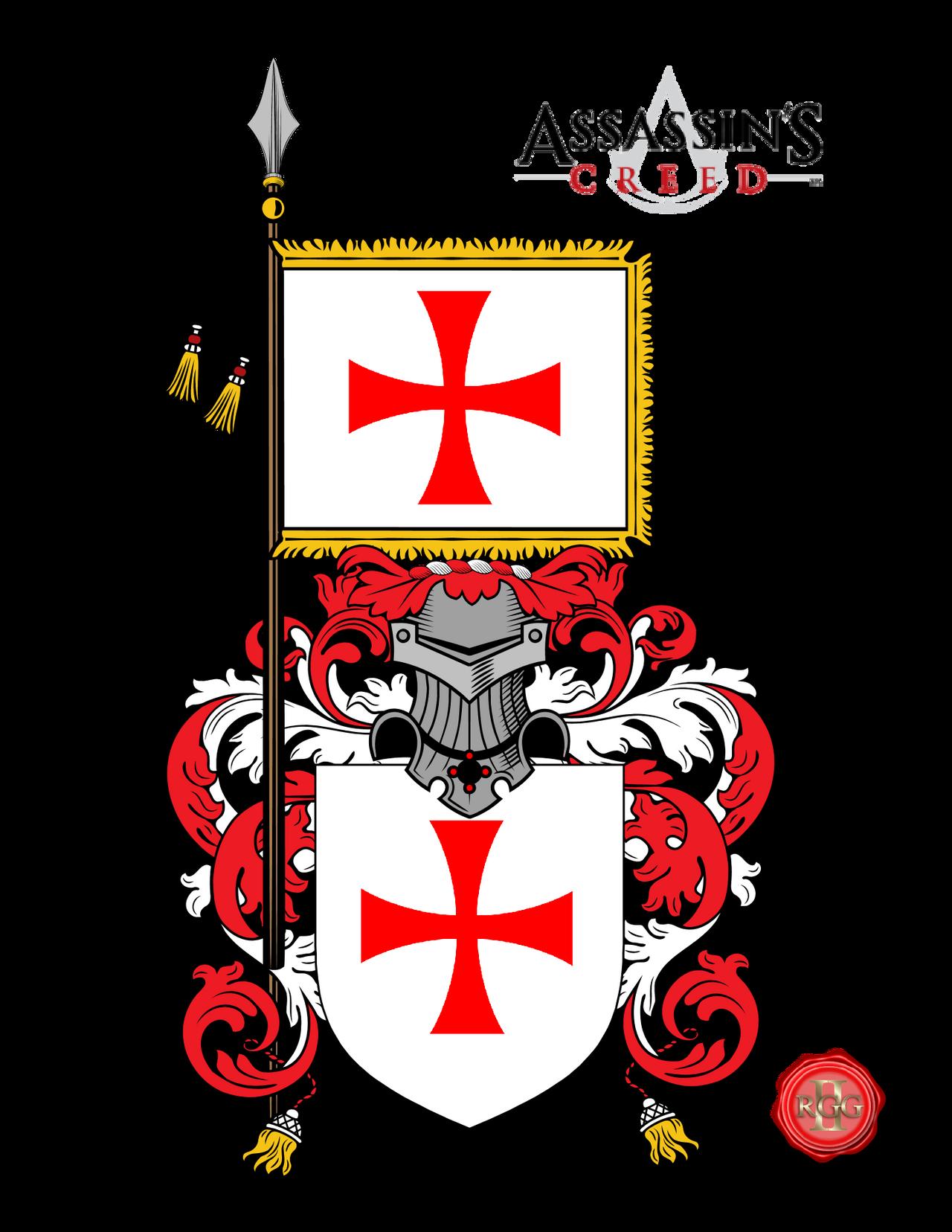 Templar Cross Assassins Creed Assassin's Creed COA T...