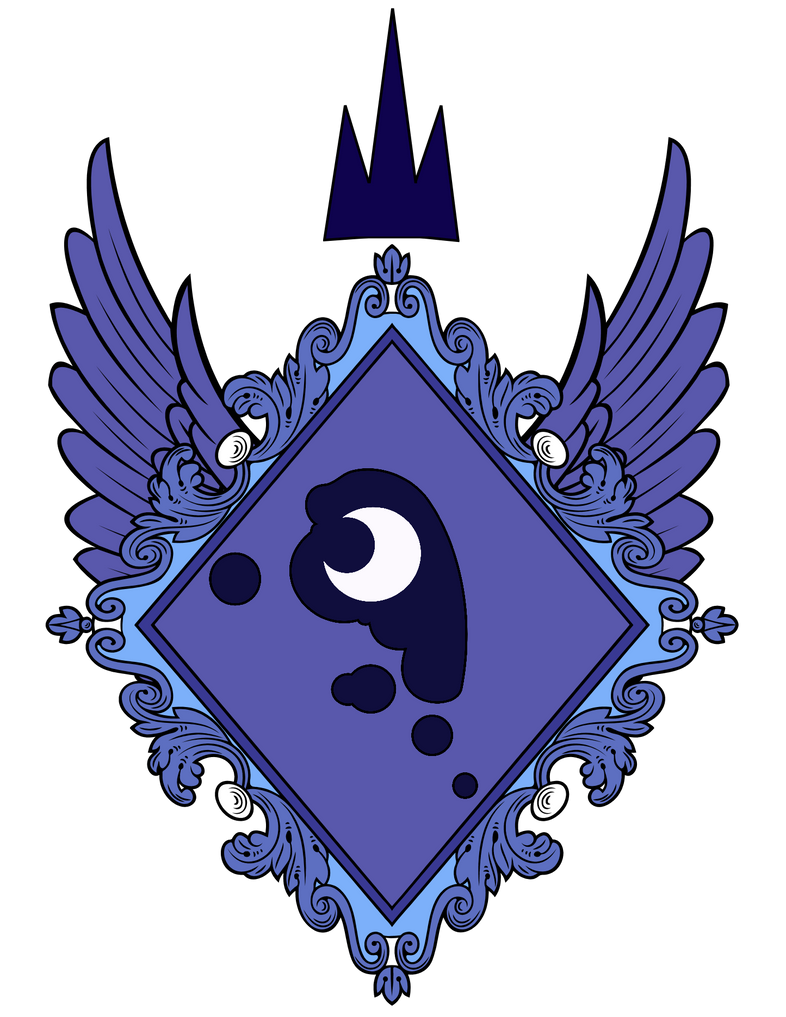 Space Coat Of Arms Princess Luna s Coat of Arms