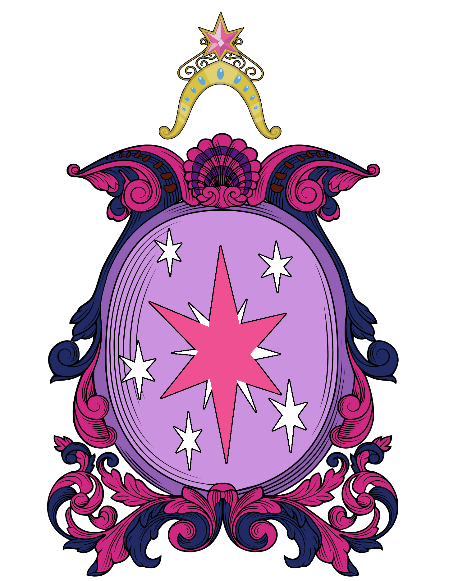 Twilight Sparkle's COA by Lord-Giampietro