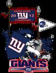 NY GIANTS SUPER BOWL 2012 CoAs