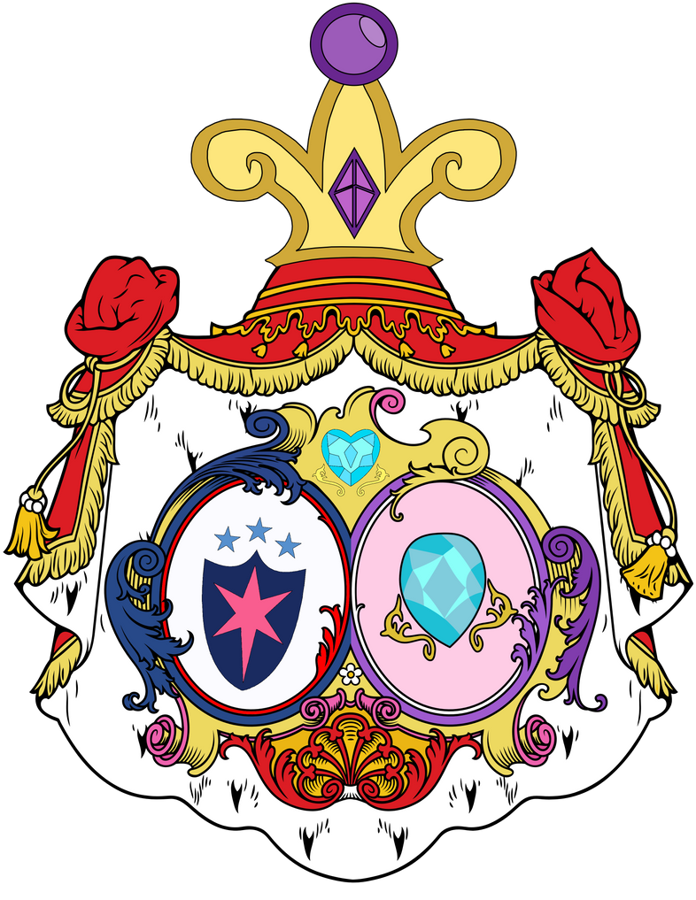 Princess Cadence and Shining Armor Wedding CoAs by Lord-Giampietro