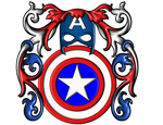 Captain America CoAs Present Shield