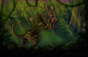 MDZS - Lady Yin vs Tiger Monster