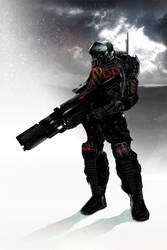 Bestia Assault Soldier by sith-x