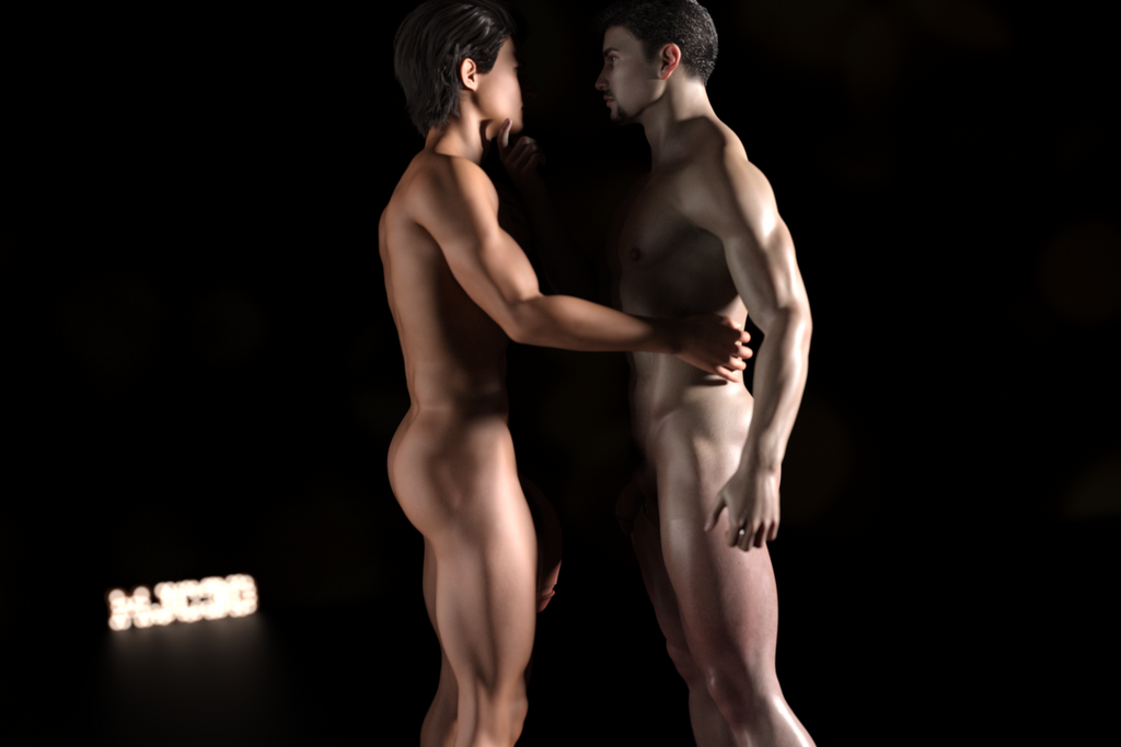 20181117 - Jared and Andre - Caress by mjc3d