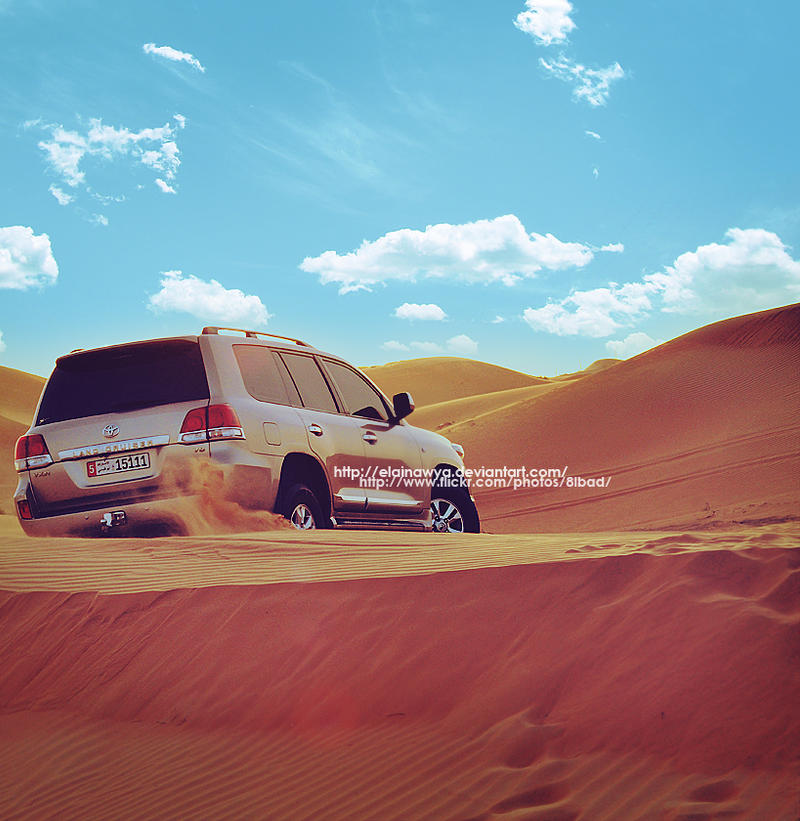 In the desert . . by ElAinawya