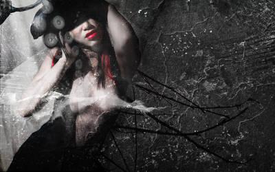 naked girl_rock