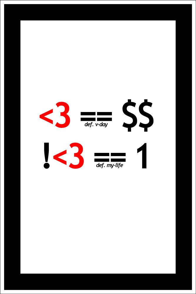 valentine's day defined by b0x0rz