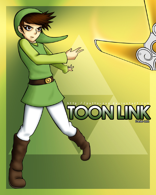 :SSBBC: Daniel-Link by Patto-san