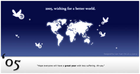 Wishing for a better world by yuenqi