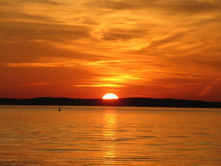 Pomonkey Creek - Sunset by ransim