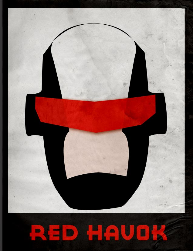 Red Havok - Illustrated by ransim