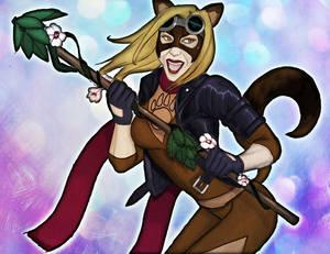 Foxy Ferret Colored