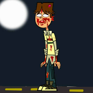 Total drama - Cody as a zombie by mrcrowley12