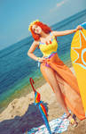 League of Legends/Pool Party Leona Cosplay