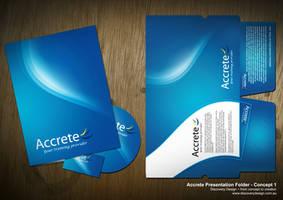 Accrete Presentation Folder by macca002