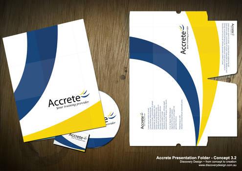 Accrete Presentation Folder 3
