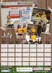 2009 Calendar July