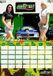 2009 Calendar Aug