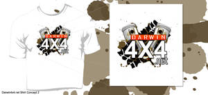 Darwin4x4.net Shirt Concept 1