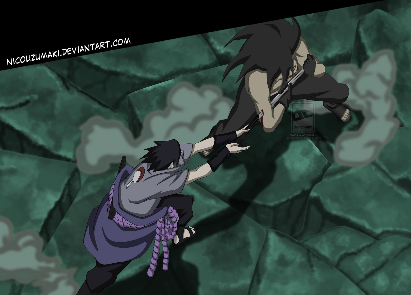 uchiha madara vs sasuke - photo #1