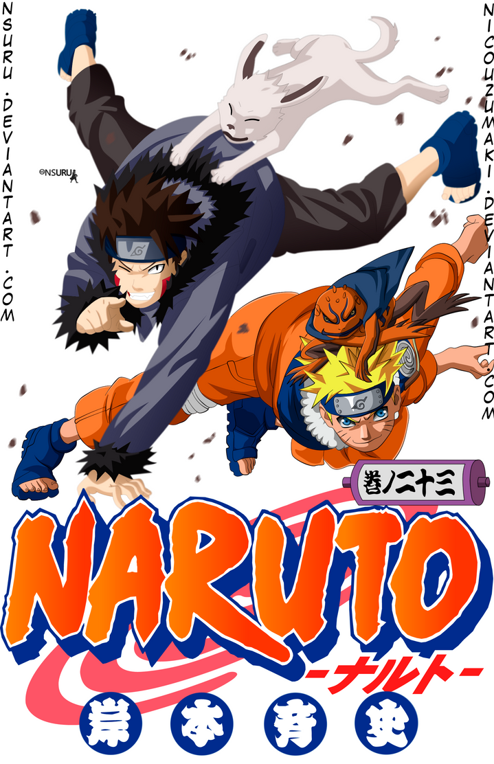 naruto manga cover N 23 by nicouzumaki on DeviantArt
