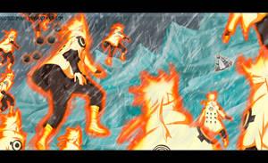 batalla entre dimensiones - NARUTO MANGA 685 by nicouzumaki