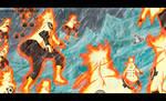 batalla entre dimensiones - NARUTO MANGA 685