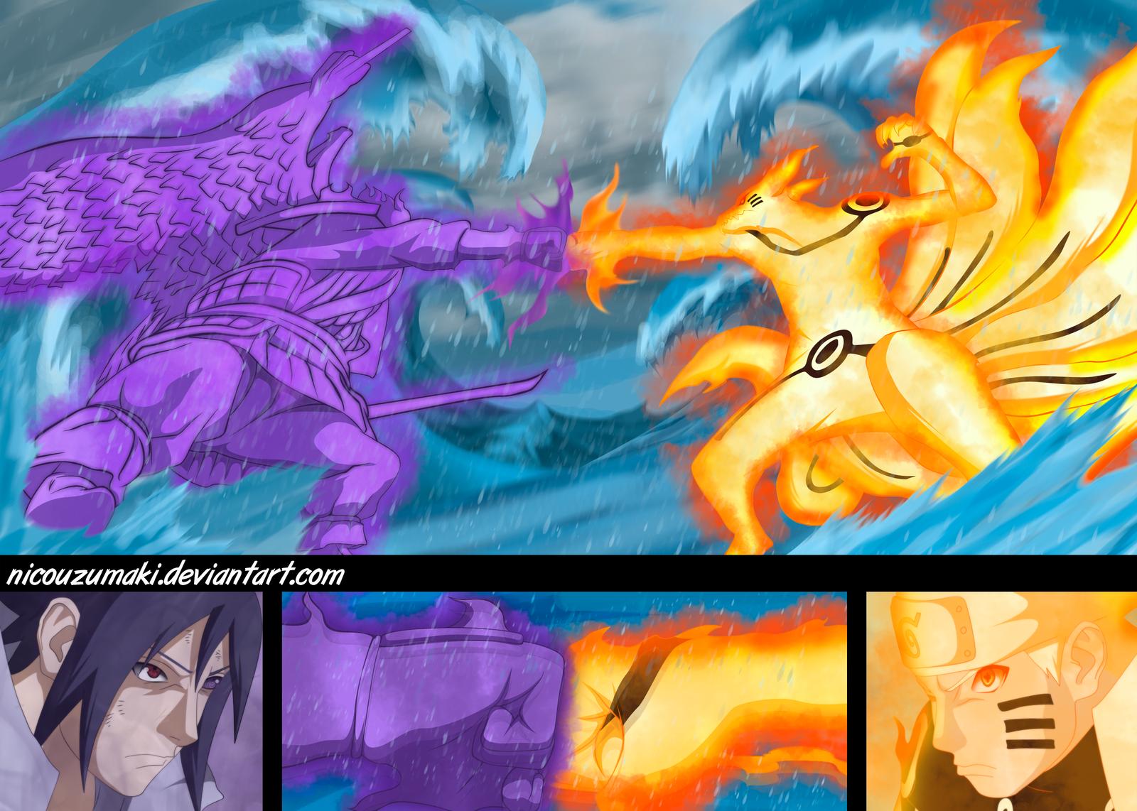 naruto vs sasuke la batalla final by nicouzumaki on DeviantArt