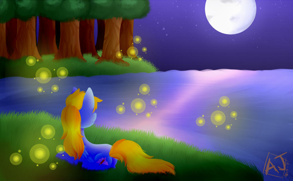 Under the Moonlight||MLP by AJDraws20XX