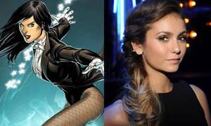 Nina Dobrev as Zatanna (DC Comics)