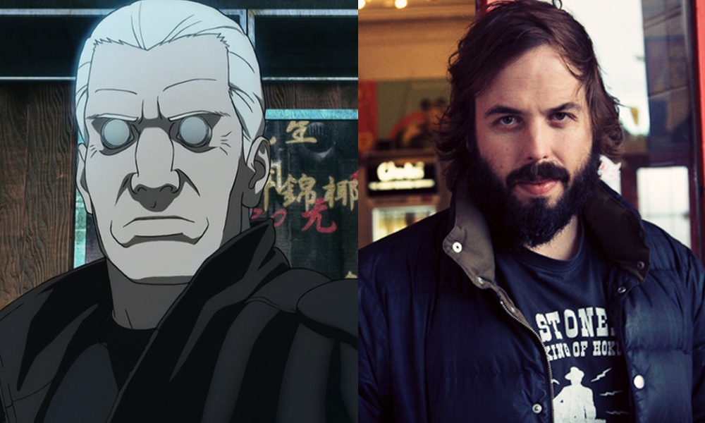 Angus Sampson As Batou Ghost In The Shell By Attaturk5 On Deviantart