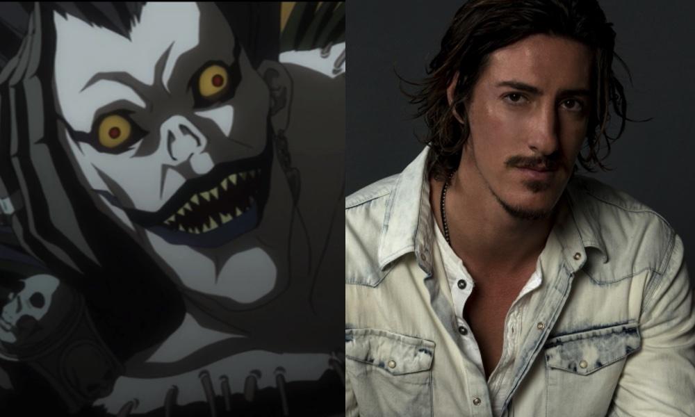 Eric Balfour as Ryuk (Death Note) by attaturk5