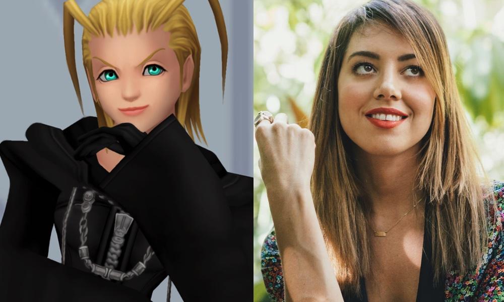 Aubrey Plaza as Larxene (Kingdom Hearts) by attaturk5