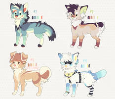 Adoptables (CLOSED) by isthisezmode