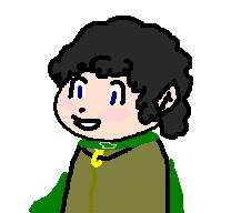 Chibi Frodo by JokersChild