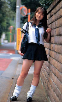 Japanese Schoolgirl 8