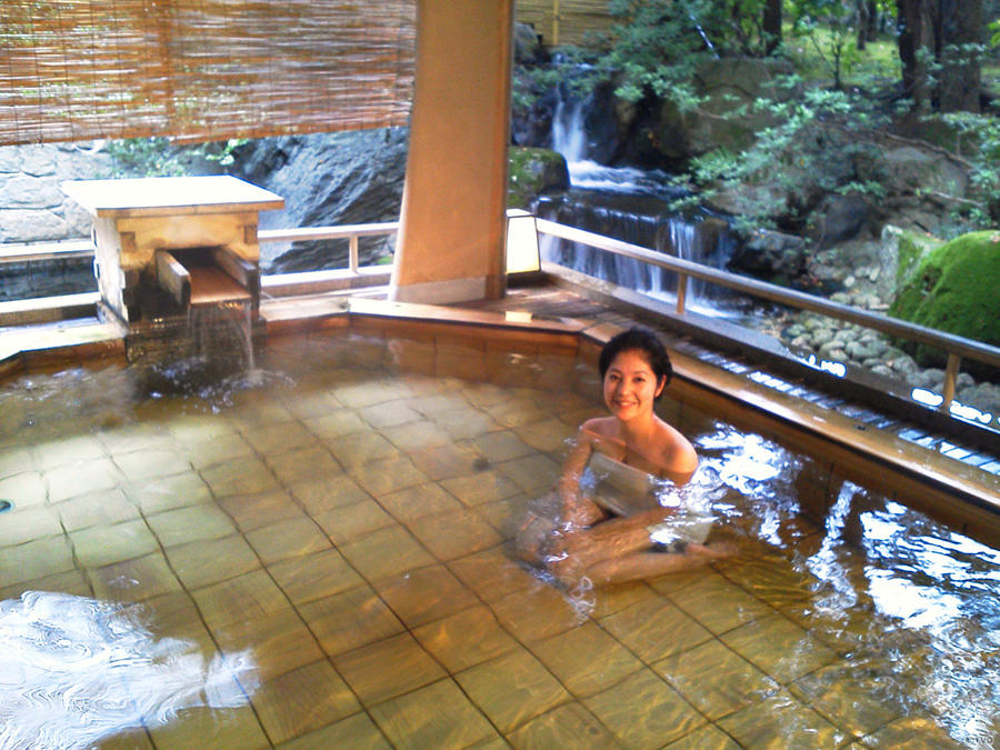 Open air bath in Japan 17 by nicojay. Open air bath in Japan 17 by nicojay on DeviantArt