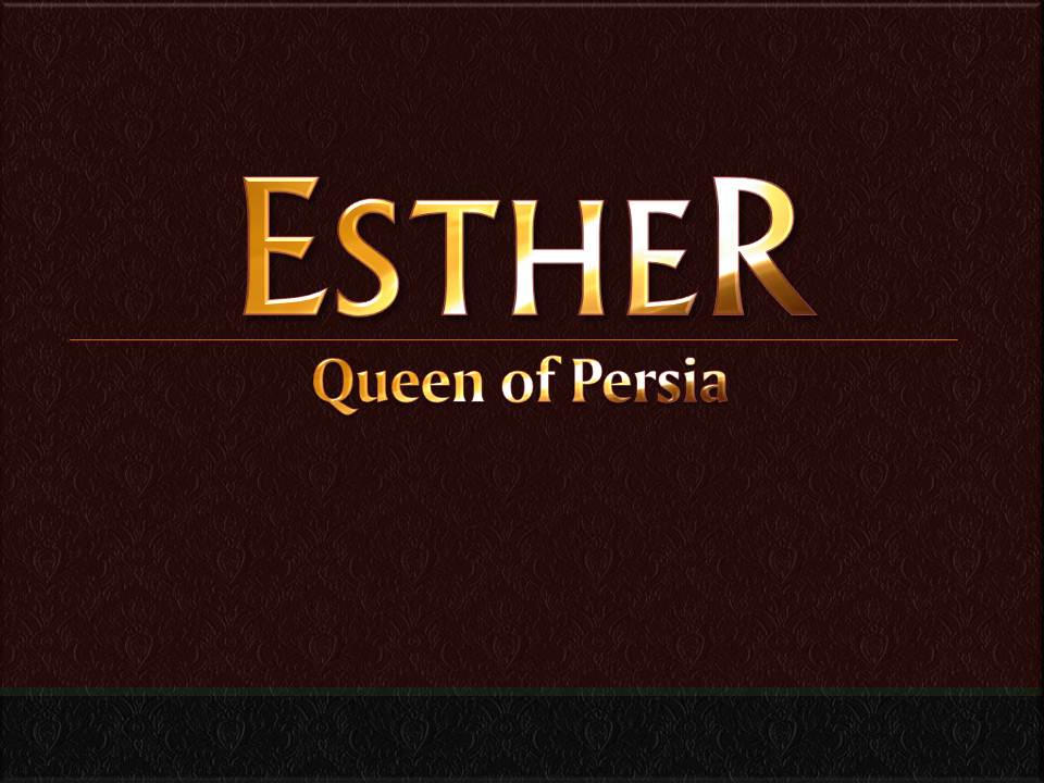 ESTHER Chapter 1 | Video