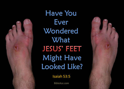 What Jesus Feet Might Have Looked Like