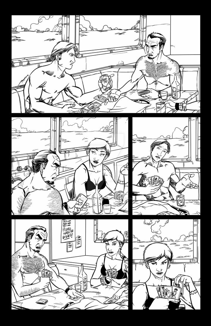 Adrift Issue#1 page 3 by mastermerol
