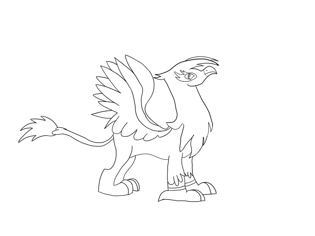 Gilda The Griffon Coloring Pages