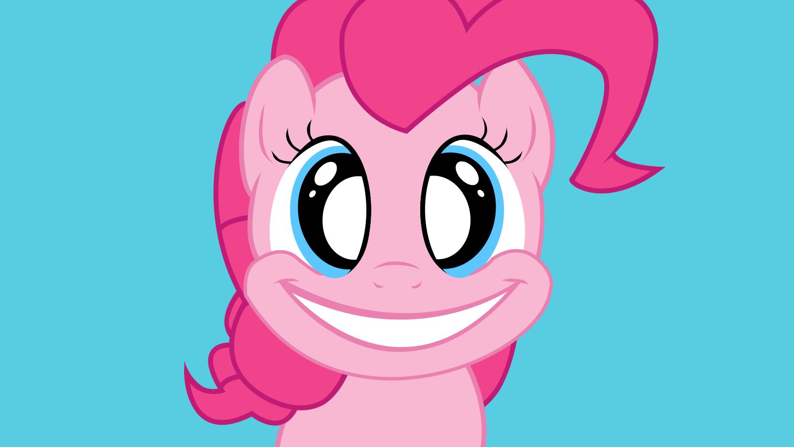 Pinkie Pie Smile HD by Baglesman on DeviantArt
