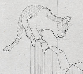 Kitty sketch