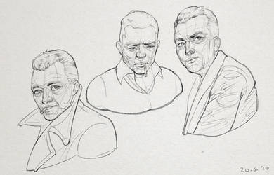 Albert Camus Sketches