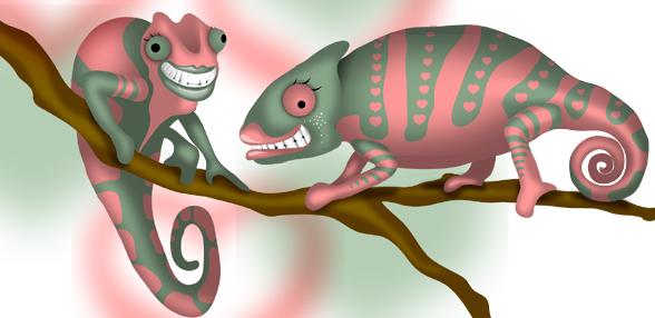 Lizard Lips by kuronekosan